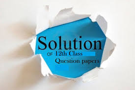 STD - 12 SCIENCE MATHS PAPER SOLUTION 2019.