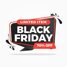 Black Friday Sale Background Banners Premium Vector Black