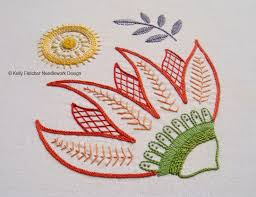 Hand Embroidery Patterns Cool Materialistic New Modern Jacobean Hand Embroidery Patterns