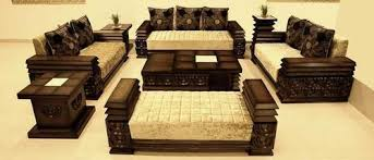 wooden sofa set designs. Wooden Designer Sofa Set Designs T