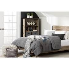 quilted comforters queen. Contemporary Queen South Shore Lodge Gray Queen Quilted Comforter And Pillow Shams And Comforters R