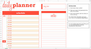 Sample Daily Agenda Daily Schedule Planner Template Business 5