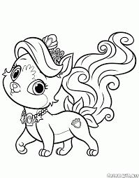 Disegni Da Colorare Piccolo Cucciolo