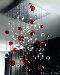 no wiring lighting. Top 76 Nifty Glass Ball Ceiling Light Free Shipping Red Clear Bubbles Chandelier Pendant Lamp Fixture Lights Large Cl Kidscreative Page No Wiring Size Of Lighting
