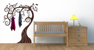 Coat Rack That Looks Like A Tree Fairy Tree coat racks decals Dezign With a Z 41