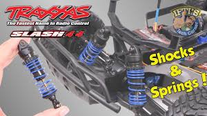 Traxxas Spring Color Chart 12 Traxxas Slash 4x4 Gtr Shocks Vg Racing Springs Prep Install