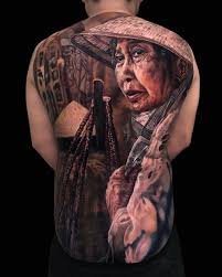 Чистая магия реализма в татуировках Tu Den