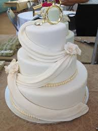 Beautiful Wedding Cake For A Celebration Wedding Anniversary Cakes