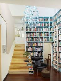 Interior Designs:Small Home Library Design With Perfect Decorating Ideas  Modern Small Home Library With