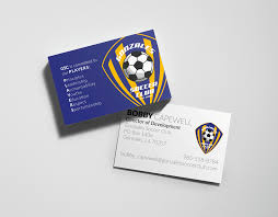 Soccer Business Card Leisl Capewell Gonzales Soccer Club Business Card