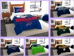football bedding licensed 2 piece twin comforter sham bed set in a bag choose your football football bedding