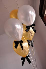 Best birthday ideas balloons new years 53 Ideas | Graduation party decor,  Black gold party, Graduation balloons
