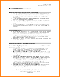8 Resume Summary Examples For Retail Letter Signature