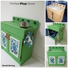 What's the best paint for furniture? This kids play stove from the thrift  store was
