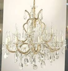 large maria theresa sixteen light chandelier 35 diameter for at 1stdibs
