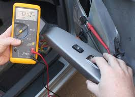 checking the window motor circuit