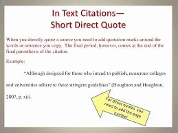 Brilliant Ideas Of How To Cite Direct Quotes In Apa Format With Amazing Quote Apa Format