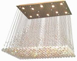 orion 16 light glass globe bubble rectangular pendant chandelier elegant tomia crystal chandeliers adele 11 light rectangular