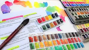 Watercolor Mixing Chart Download How To Substitute Colors In Paintings Free Color Conversion Chart With Mixing Tips