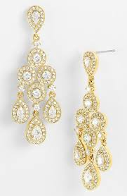 nadri framed chandelier earrings