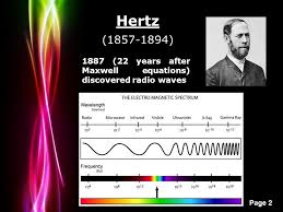 2 powerpoint templates page 2 1887 22 years after maxwell equations discovered radio waves hertz 1857 1894
