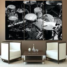 drum wall art drums metal  on metal drum set wall art with drum wall art size 1 recycled oil drum lid wall art webdatatest fo