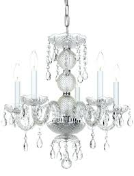 chrome mini chandelier traditional crystal 5 light clear crystal chrome mini chandelier amorette chrome mini chandelier chrome mini chandelier
