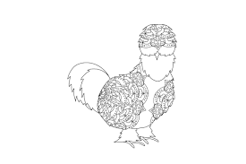 Completely free svg files for cricut, silhouette, sizzix and many other svg compatible electronic cutting machines. Chicken Mandala Svg Cut File By Creative Fabrica Crafts Creative Fabrica