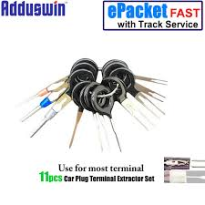 popular connector pin removal tool buy cheap connector pin removal How To Remove Pins From Wire Harness free shpiping 11pcs auto car plug circuit board wire harness terminal extractor pick connector crimp pin how to remove metal pins from wire harness