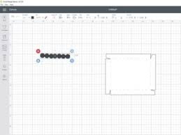 You can access to do that, click on layers on the right menu. Diy Scalloped Svg Box Lid Using Cricut Design Space