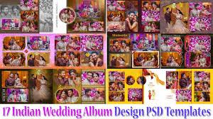 Indian Wedding Photo Album Design Online How To Free Download 17 Indian Wedding Album Design Psd Templates From Studiopk