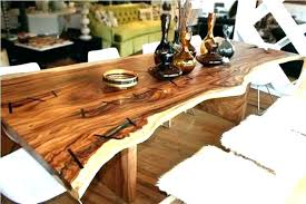 wood dining table distressed rustic round set reclaimed woo