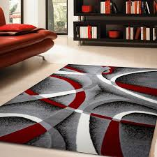 zipcode design katelynn gray white wine red black area rug lovely and rugs 1