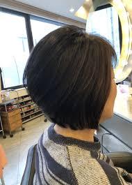 40代50代60代ヘアスタイル髪型ショートボブ 表参道青山美容室