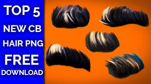 top 5 new cb editing hair png for picsart editing latest hair png