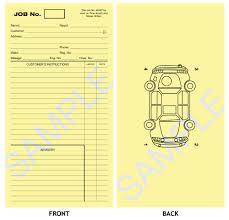 Mechanics Job Card Template Konel Kaptanband Co