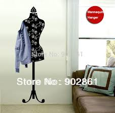 Mannequin Coat Rack Nice sticker Stylish Mannequin Clothes Stand Coat Rack Hanger Wall 35