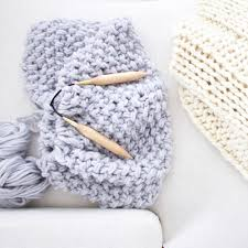 Birch knitting needles | Free Chunky Wool Blanket Pattern Download | Design  The Life You Want