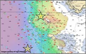 Ocean Depth Chart 57 Detailed Nautical Chart Southern California