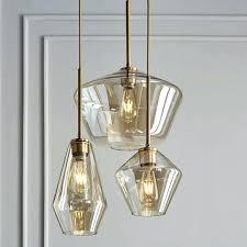 west elm chandelier lighting sconce sculptural glass 3 light mixed reviews capiz ins west elm chandelier