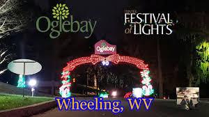 Wheeling Festival Of Lights Oglebay Festival Of Lights 2019 Wheeling Wv