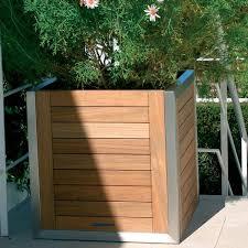 outdoor planter boxes. Outdoor Planter Boxes Teak Box Modern Patio Chicago Home Outside N