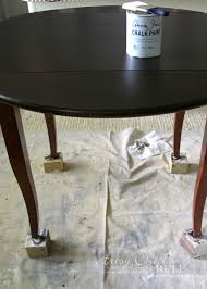 painting wood furniture whiteUpdate Wood Furniture with PolyShades  Chalk Paint  Artsy Chicks