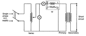 o c test & s c test of single phase transformer sohail ansari Primary Single Phase Transformer Wiring Diagram fig 3 fig 1 experimental circuit for o c test Single Phase Transformer Connections