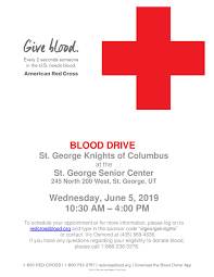 red cross blood drive june 5th