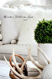 winter pillow love 2017 winter is the perfect time to bring beauty to your home