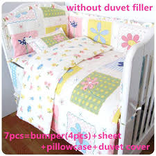 Baby Bed Quilts Baby Crib Comforter Baby Cot Bed Duvet Covers Ups ... & ... Child Bed Quilt Size Baby Cot Bed Sheets India This Floral Themed  Bedding Set Is A ... Adamdwight.com