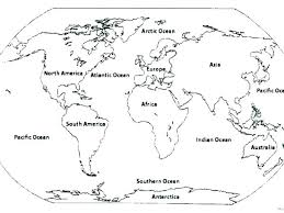 Online Map Coloring Online Map Coloring Map Of World Coloring Page
