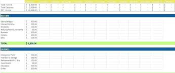 Personal Weekly Budget Templates Budget Template Google