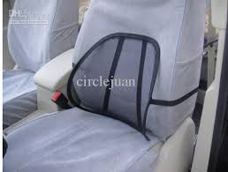 Car Chair Seat Back Surpport Mesh Lumbar Brace Cushion Car